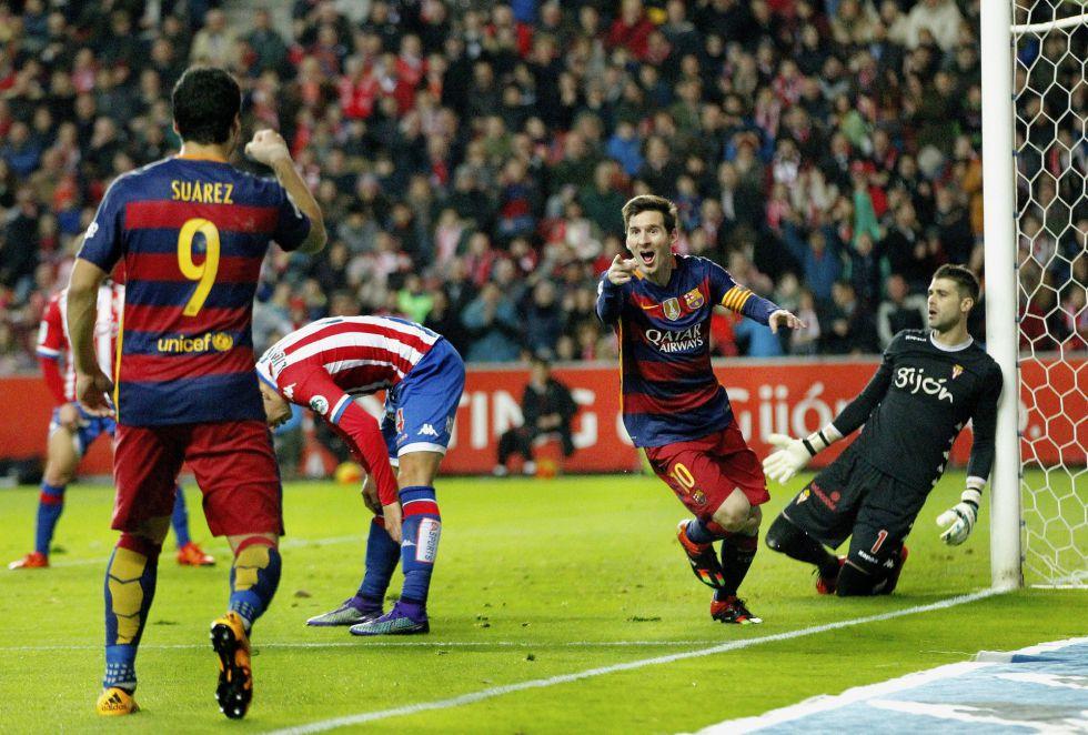 Sporting - Barcelona