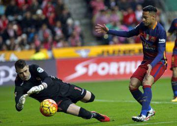 Messi sigue con su rutina goleadora y acaba con el ánimo del Sporting
