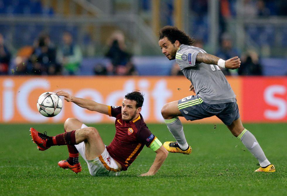 Florenzi arrebata el balón a Marcelona
