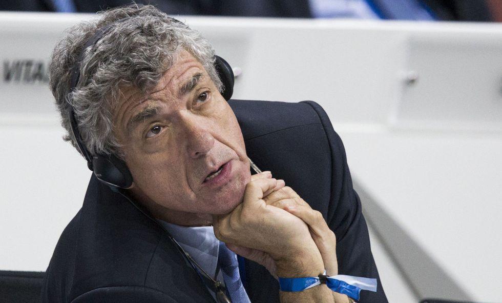 Villar en un congreso en 2015.