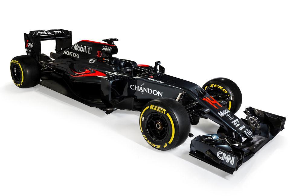 El MP4-31 que pilotará Fernando Alonso.
