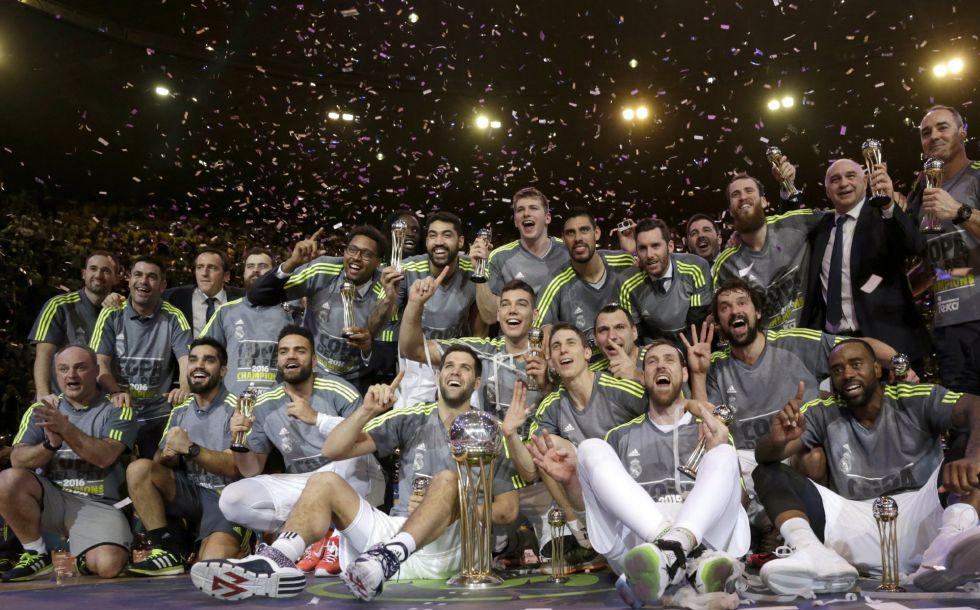 Real Madrid campeón Copa del Rey de baloncesto