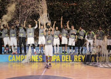 Real Madrid, campeón de la Copa del Rey de baloncesto 2016