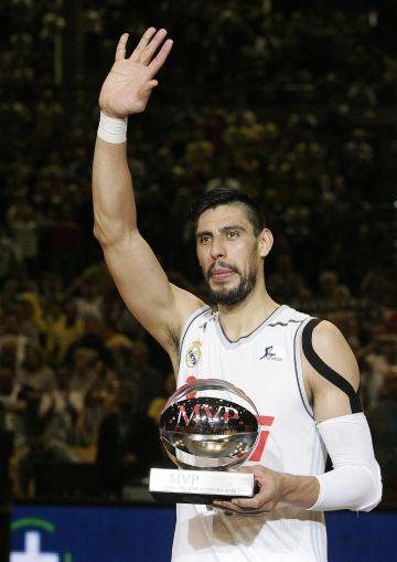 Ayón, MVP de la Copa.