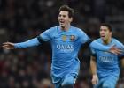 Messi le da el triunfo al Barça en Londres