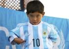 Murtaza ya luce el 10 de Messi