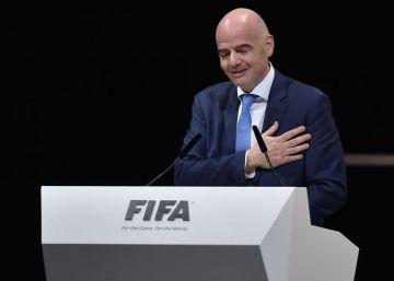 Infantino, de los bombos al trono del fútbol mundial