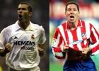 Cuando jugaron Simeone y Zidane