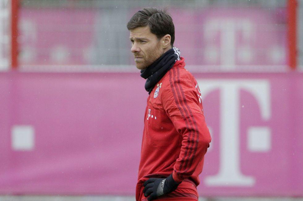 El jugador vasco del Bayern de Múnich Xabi Alonso.