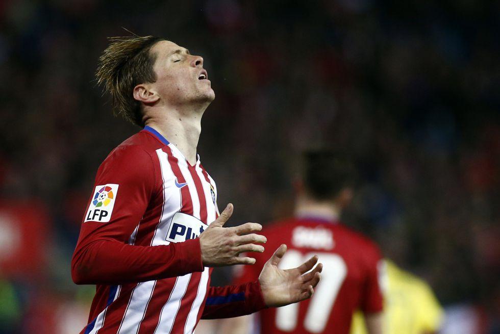 Torres, durante un partido de Liga.