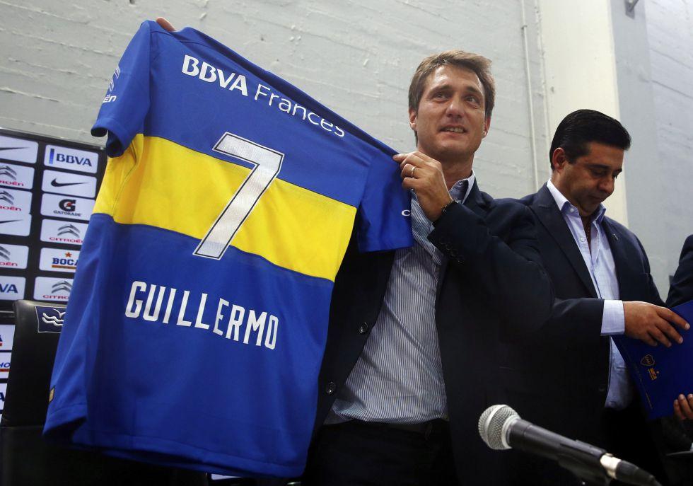 El nuevo entrenador de Boca Juniors, Guillermo Barros Schelotto