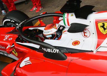 Ferrari y el 'halo' para salvar vidas
