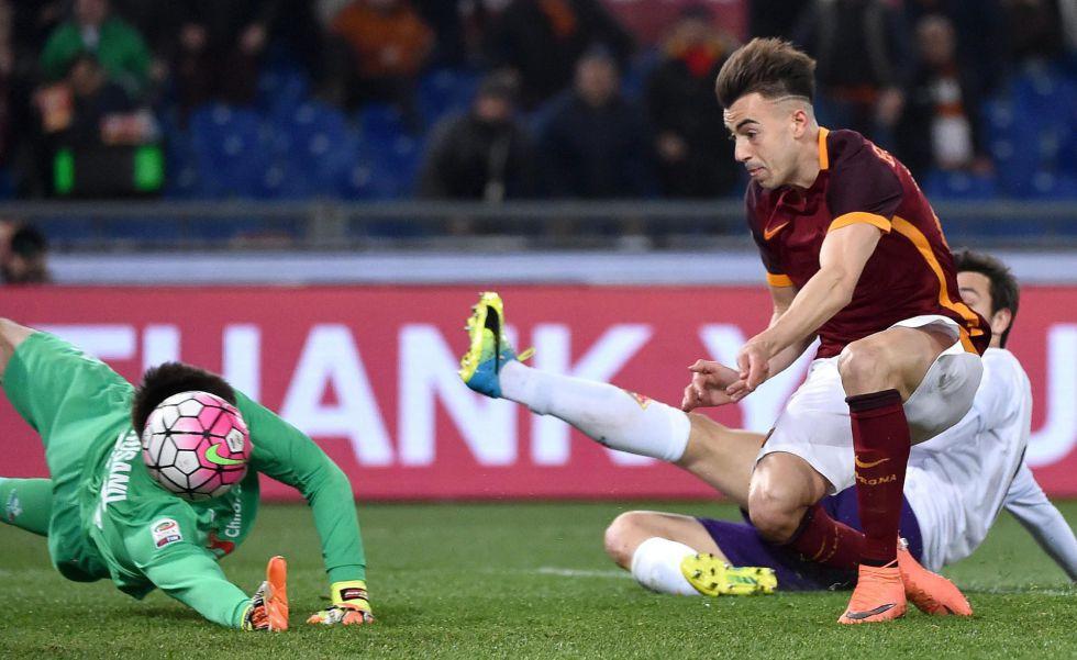 La Roma toma ventaja por la tercera plaza al golear a la Fiore