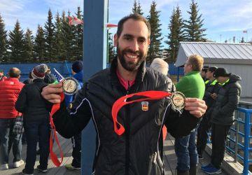 Mirambell, con los dos oros de Calgary.