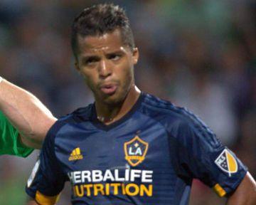 Giovani Dos Santos, con el LA Galaxy.