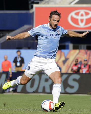 Frank Lampard, con el New York City Football Club.
