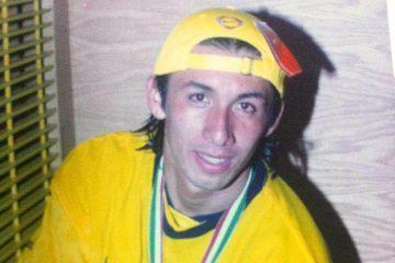 Carlos Sánchez, recién campeón de la liga mexicana en 2002.