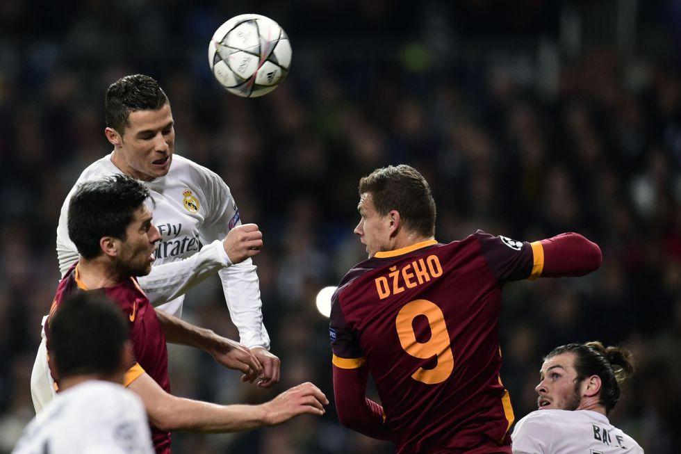 Crónica: El Real Madrid de Cristiano sofoca a la Roma  José Sámano