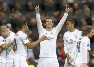 El Real Madrid de Cristiano sofoca a la Roma