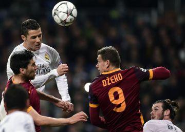 El Bernabéu ovaciona a Totti