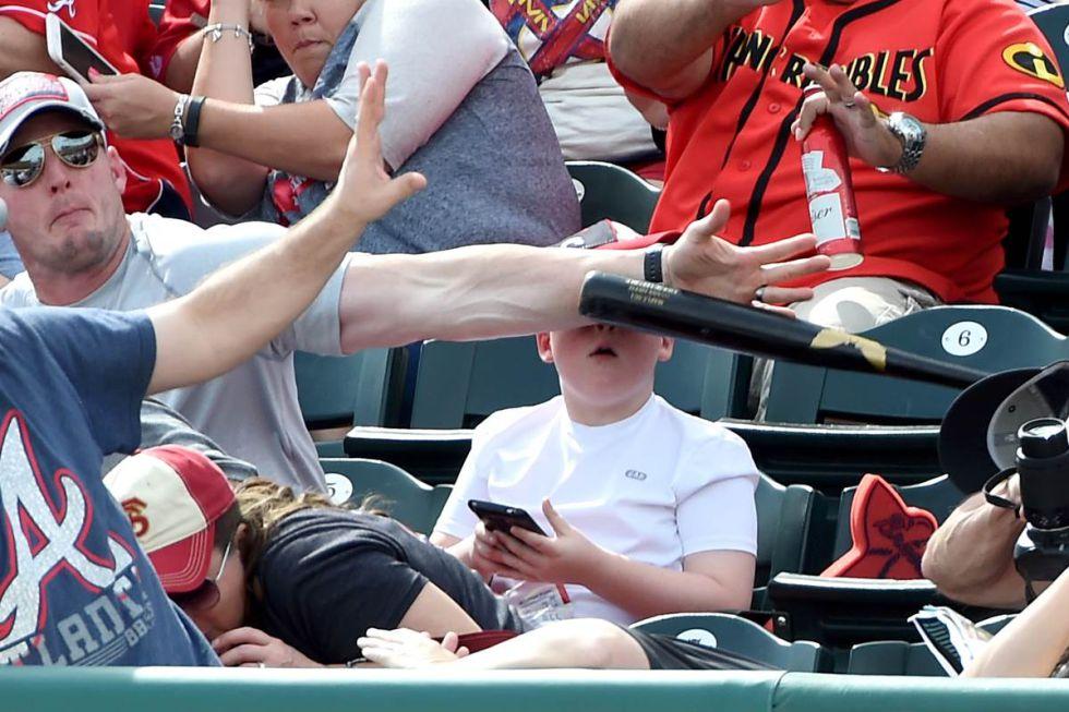 La imagen que captó el fotógrafo del Pittsburgh Tribune-Review