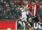 Victorias de Villarreal y Athletic y empate del Sevilla