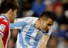 El Málaga hunde al Sporting