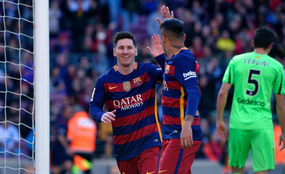 El Barcelona arrolla al Getafe