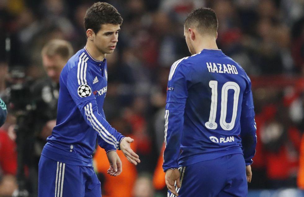 Hazard, sustituido por Oscar.