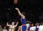 Calderón se apunta a los triples decisivos ante los Lakers