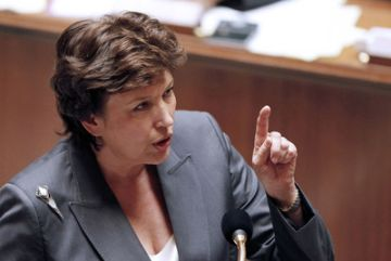 Roselyne Bachelot, en una foto de archivo.