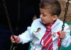 El niño palestino que sobrevivió al ataque de Duma viaja a Madrid