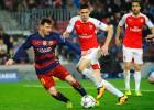 El Barcelona castiga al Arsenal