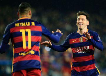El tridente del Barcelona castiga al Arsenal