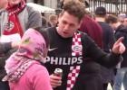 La Fiscalía abre diligencias por la humillación de los hinchas del PSV