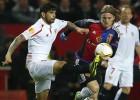 Directo: Rami y Gameiro ponen al Sevilla en cuartos de final