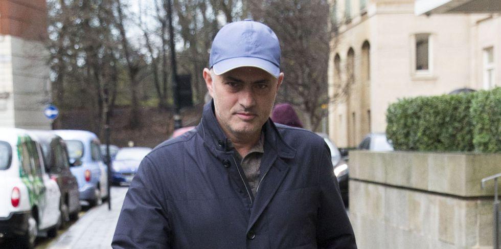 José Mourinho en Londres.