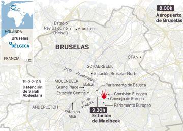 Toda la información sobre los atentados de Bruselas
