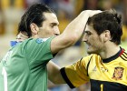 Buffon y Casillas, mitos dispares