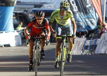 Martin se postula en la Volta y Contador se coloca segundo