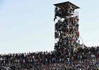 Más de 40.000 espectadores en un estadio de Nigeria para 25.000