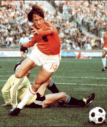 Cruyff, en el Mundial de 1974.
