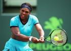 Serena Williams, eliminada del Masters de Miami en octavos