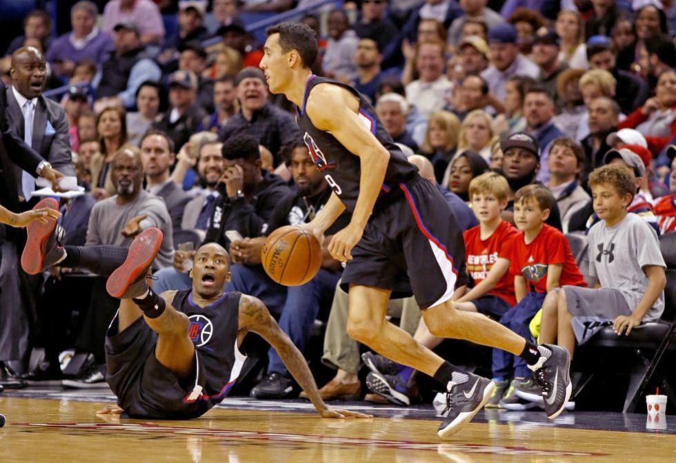 El base Pablo Prigioni en un partido de la NBA hace una semana.