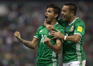 México se impone con facilidad a Canadá y se acerca al mundial