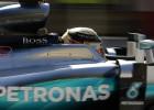 Hamilton y Rosberg copan la primera línea en Bahréin