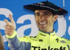 Contador exhibe su poderío
