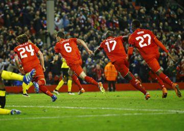 Villarreal, Sevilla, Liverpool y Shakhtar Donetsk, a semifinales