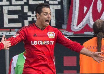 Chicharito y Marco Fabián se enfrentan en la Bundesliga
