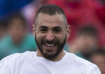 La felicidad de Benzema